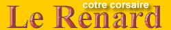 Logo Le renard cotre corsaire Saint-Malo